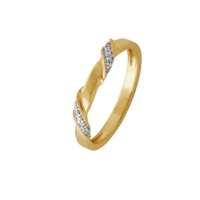 Le Plus Grand Fournisseur Prix Pas Cher Livraison Rapide Bague twistme 'you and me diamond jump' en or jaune 9k et diamants Pas Cher Vente Site Officiel wJndn