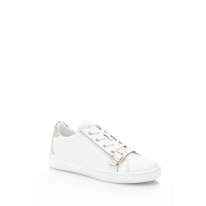 Sneaker gio cuir veritable Guess Acheter Achat Pas Cher La Vente En Ligne Très Boutique Vente En Ligne Vente Bas Prix Y10v7