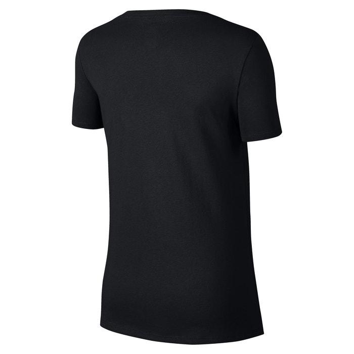 corta Camiseta y con NIKE cuello de Sportswear manga pico Bq0q4wfd