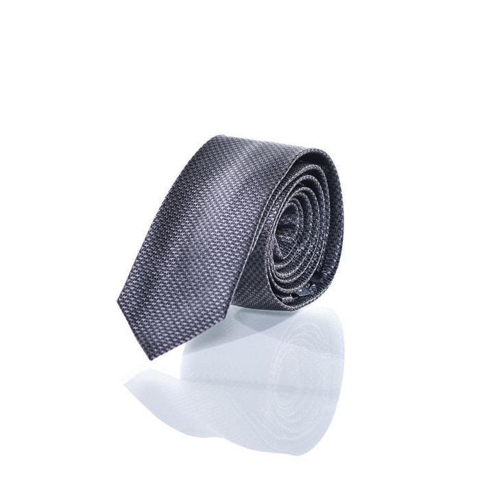 Cravate pied de poule anthracite et gris. gris Casa Moda | La Redoute Pas Cher Combien Dates De Sortie Rabais jUK46fs6