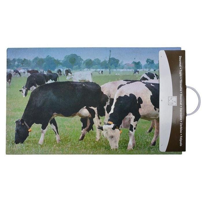 Paillasson Déco En Caoutchouc Recyclé Intérieur Extérieur Vache