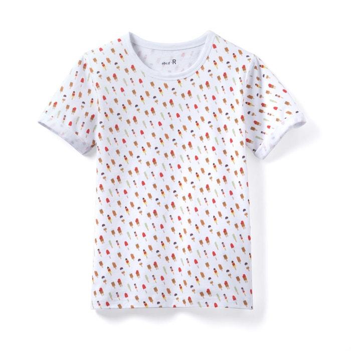 T-shirt imprimé glaces 3-12 ans