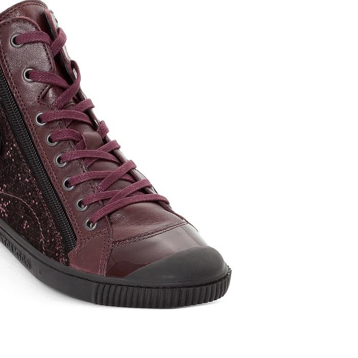 afbeelding Hoge sneakers in leer Bono PATAUGAS