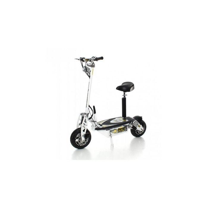 Trottinette électrique sxt scooter 1000 xxl 1600w brushless blanche  batterie plomb 48v 12ah Sxt Scooter   La Redoute a04379b62f4e