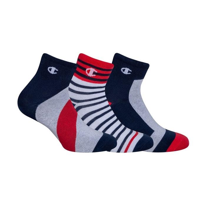 magasins populaires trouver le prix le plus bas rencontrer Lot de 3 chaussettes courtes Legacy fashion