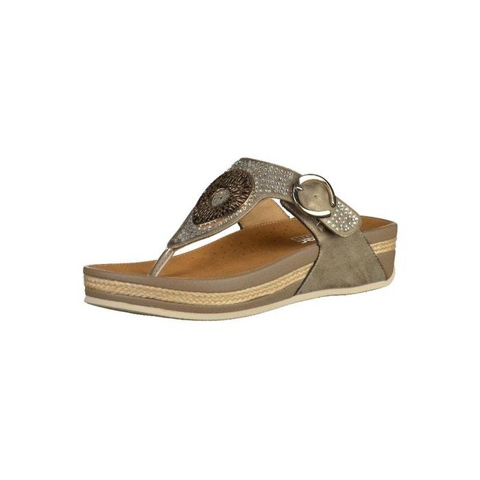 Sandales beige Rieker Vente Recherche yahL9k