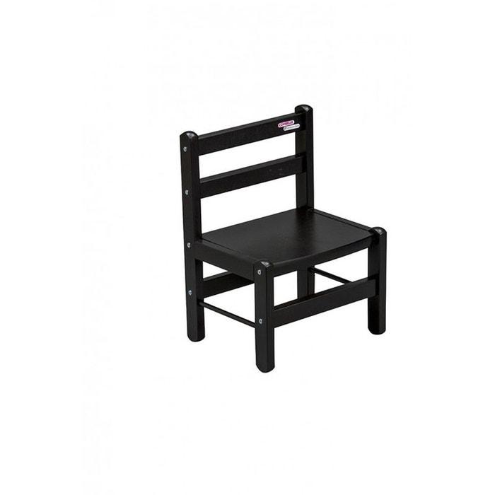 chaise basse laqu noir combelle combelle image 0 - Chaise Basse