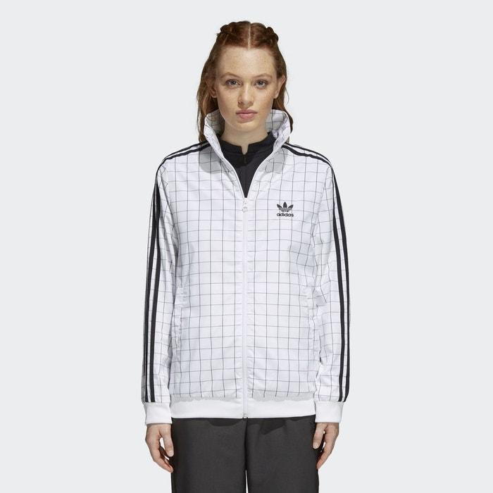 73fdb6f6f1654 Veste de survêtement clrdo blanc Adidas Originals   La Redoute