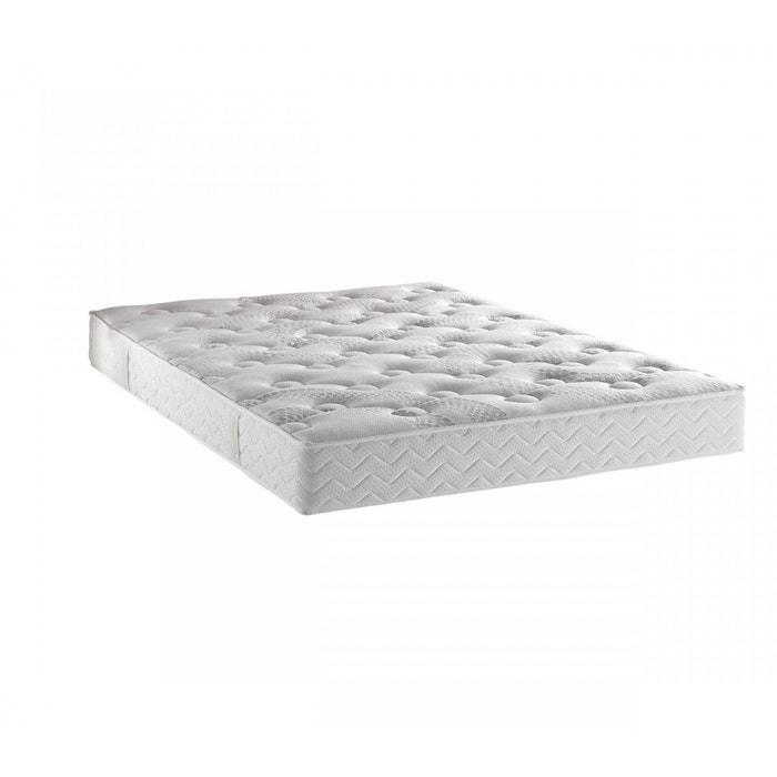 matelas dunlopillo aerotex 22 cm blanc dunlopillo la redoute. Black Bedroom Furniture Sets. Home Design Ideas
