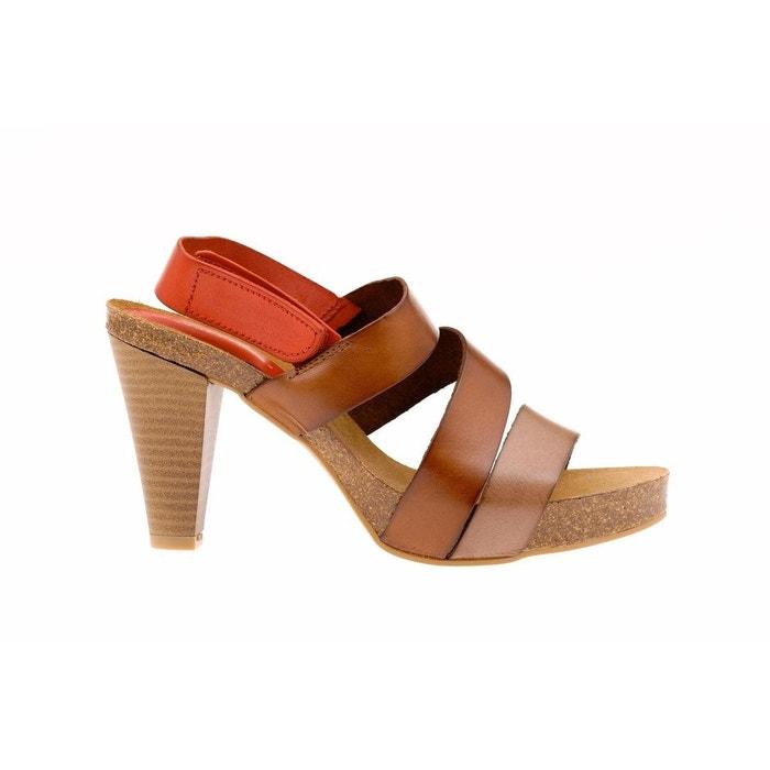 Sandale  marron Vaquetillas  La Redoute