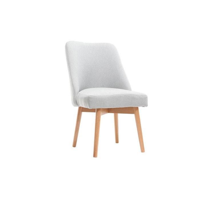 chaise scandinave tissu pieds bois liv miliboo image 0 - Pied De Chaise Scandinave