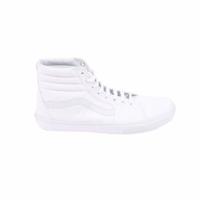 Baskets hautes sk8-hi   en toile  blanc Vans  La Redoute