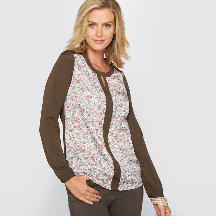 Image Wzorzysta bluzka z nadrukiem ANNE WEYBURN
