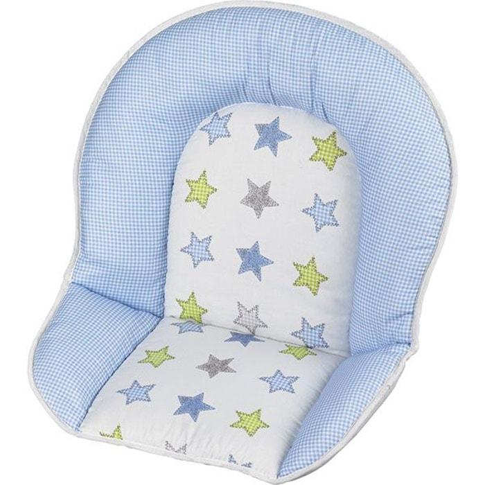 r ducteur tissus pour chaise haute b b geuther toile bleu geuther la redoute. Black Bedroom Furniture Sets. Home Design Ideas
