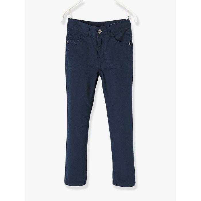 Pantalon droit indestructible garçon bleu