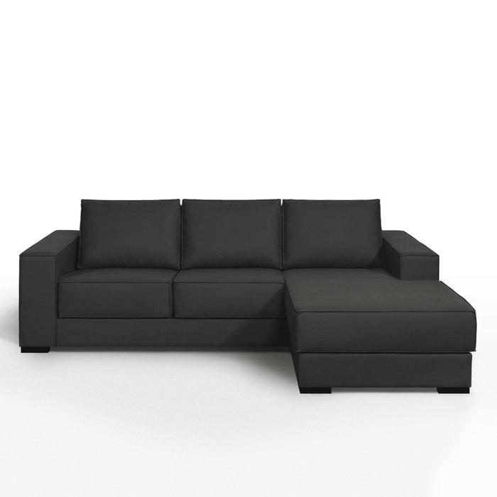 Canap d angle fixe confort excellence coton demi natt for La redoute meuble d angle