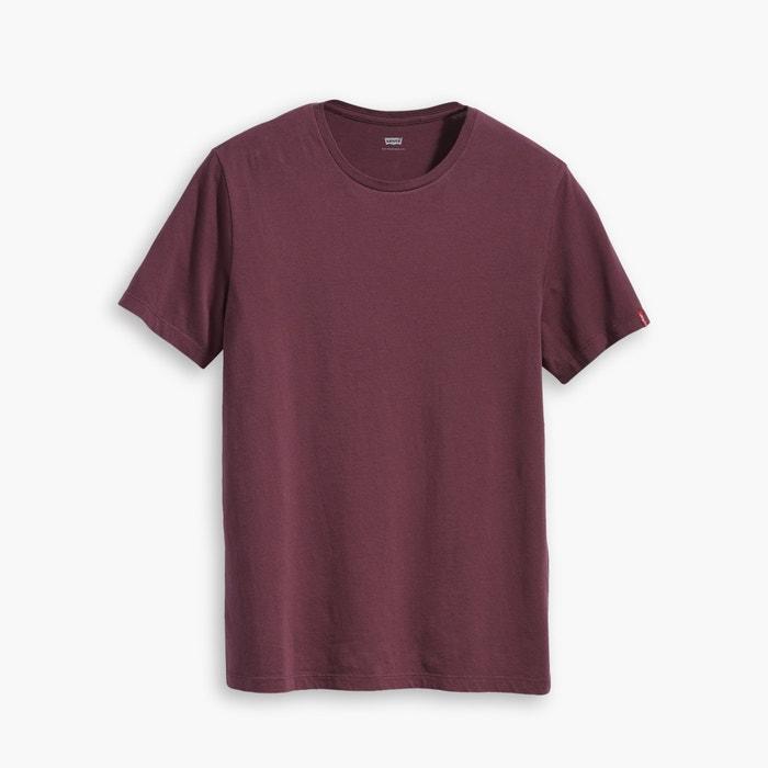 corta manga de redondo LEVI'S y con Lote camisetas cuello 7pxgwHBqS