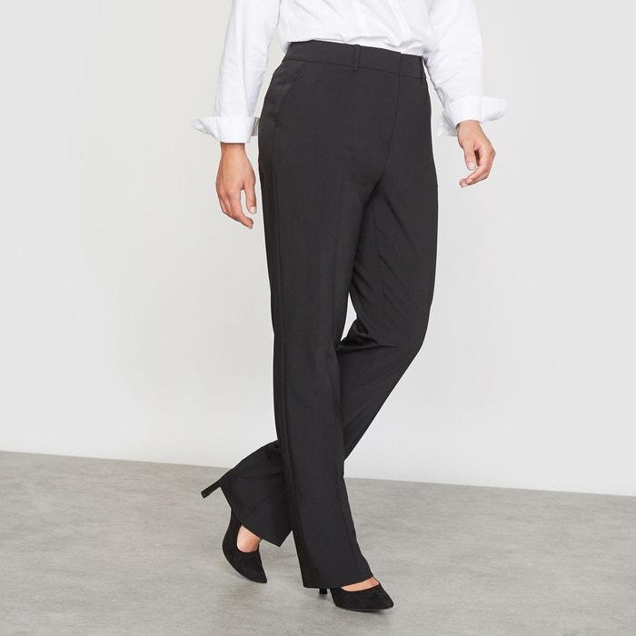 Pantalon droit de tailleur en polylaine CASTALUNA