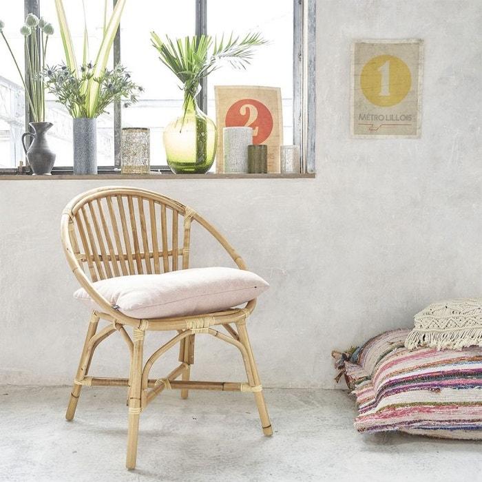 fauteuil en rotin vintage rotin bois dessus bois dessous la redoute. Black Bedroom Furniture Sets. Home Design Ideas
