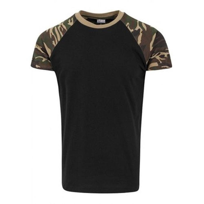 023e285303984 T-shirt manches raglan bicolore camouflage Urban Classics   La Redoute