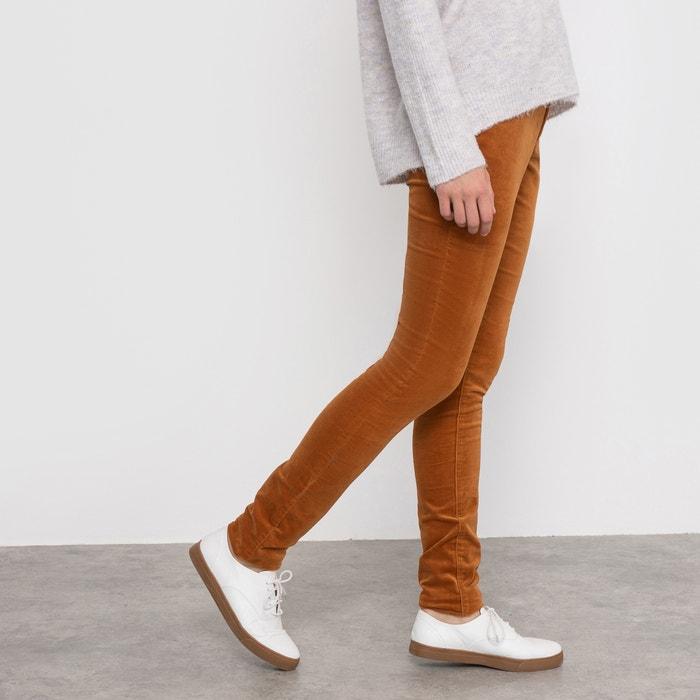 Image Pantalon skinny en velours R édition