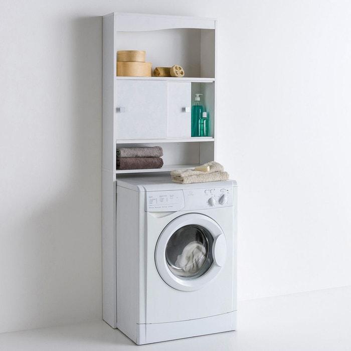 etag re sur wc ou lave linge roselba blanc taupe la. Black Bedroom Furniture Sets. Home Design Ideas