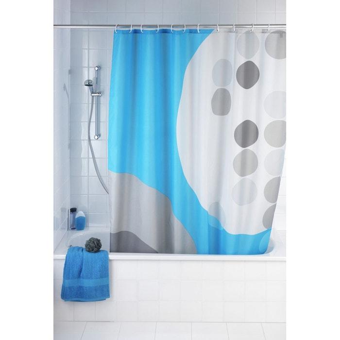 rideau de douche artdeco blanc wenko la redoute. Black Bedroom Furniture Sets. Home Design Ideas