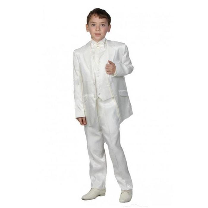 costume blanc cass de gar on mati re satin e pour mariage blanc cass dymastyle la redoute. Black Bedroom Furniture Sets. Home Design Ideas