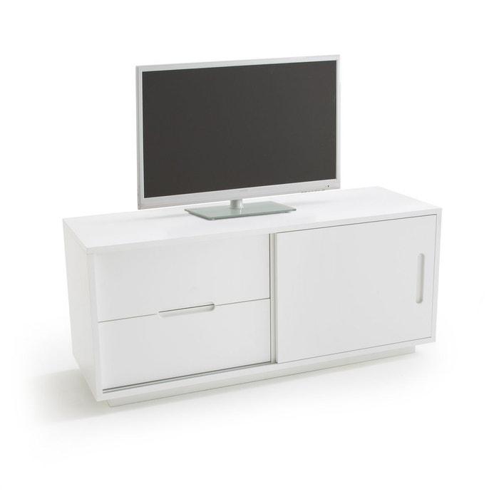 banc tv 120 cm norwich blanc la redoute interieurs la redoute. Black Bedroom Furniture Sets. Home Design Ideas