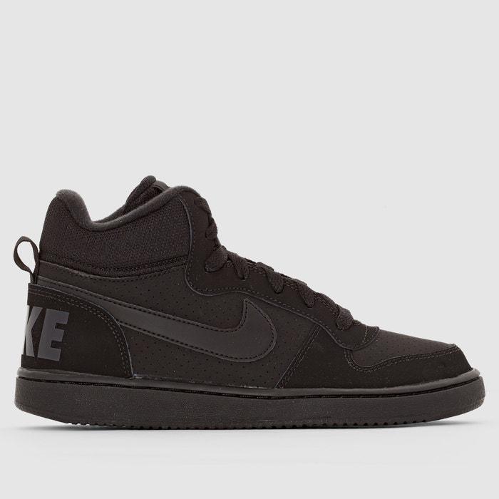 5cfa0cd3ae391 Baskets montantes court borough mid (gs) Nike noir