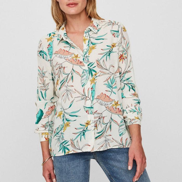 Palm Print Long-Sleeved Shirt  VERO MODA image 0