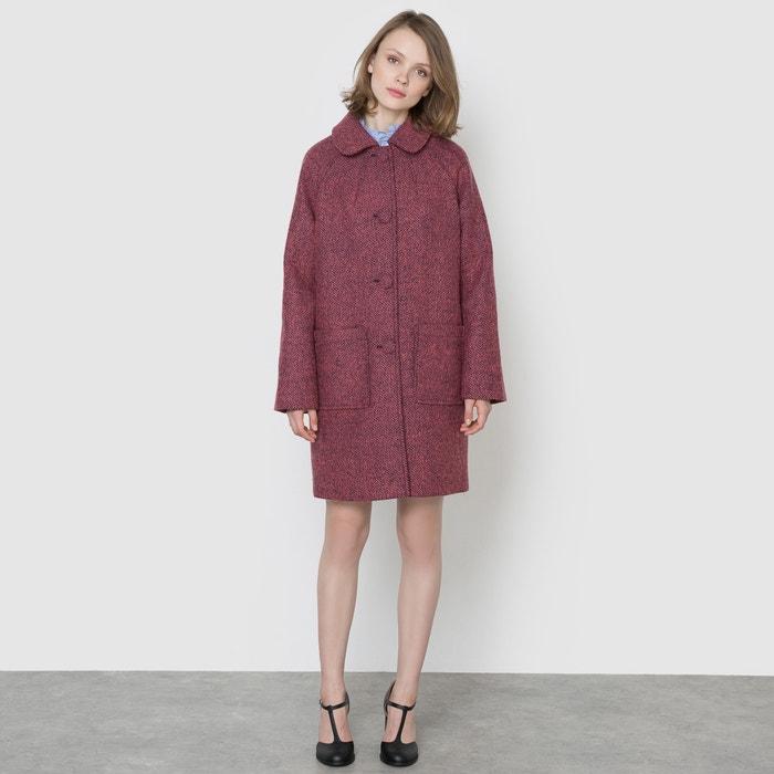 Image Coat with Raglan Sleeves MADEMOISELLE R