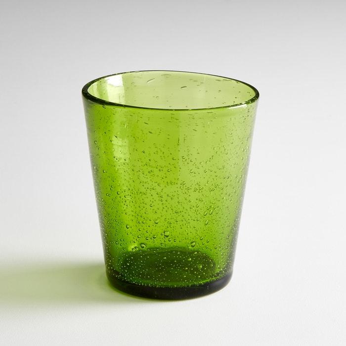 Image Waterglas met luchtbellen effect FARAJI (set van 4) La Redoute Interieurs