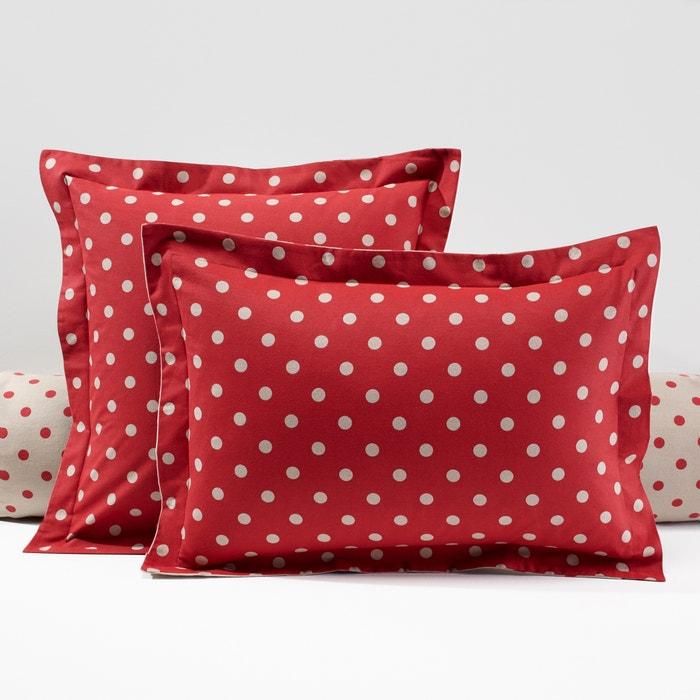 taie d 39 oreiller flanelle imprim e clarisse la redoute. Black Bedroom Furniture Sets. Home Design Ideas