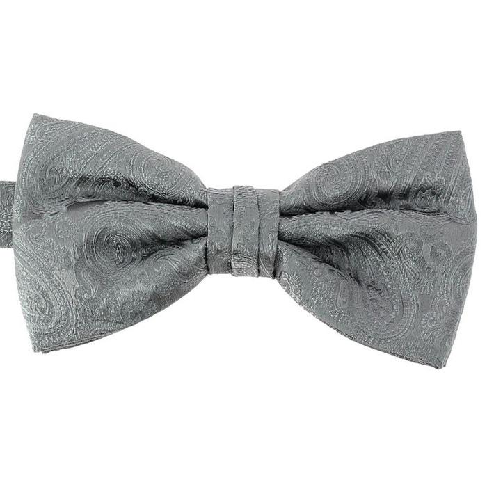 Noeud papillon noué segni & disegni, soie gris gris Segni Et Disegni | La Redoute