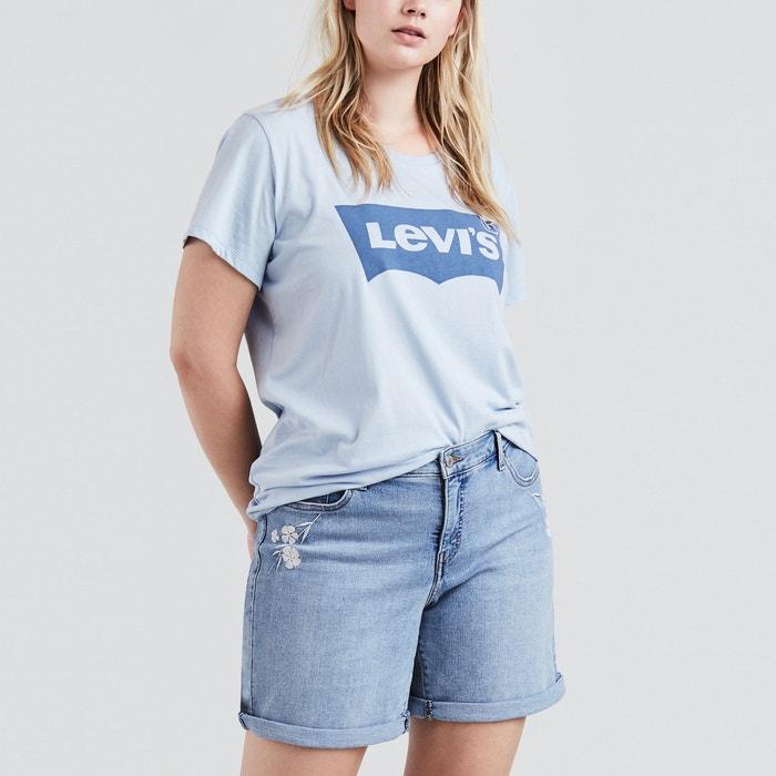 Plain Short-Sleeved Crew Neck T-Shirt  LEVI'S image 0