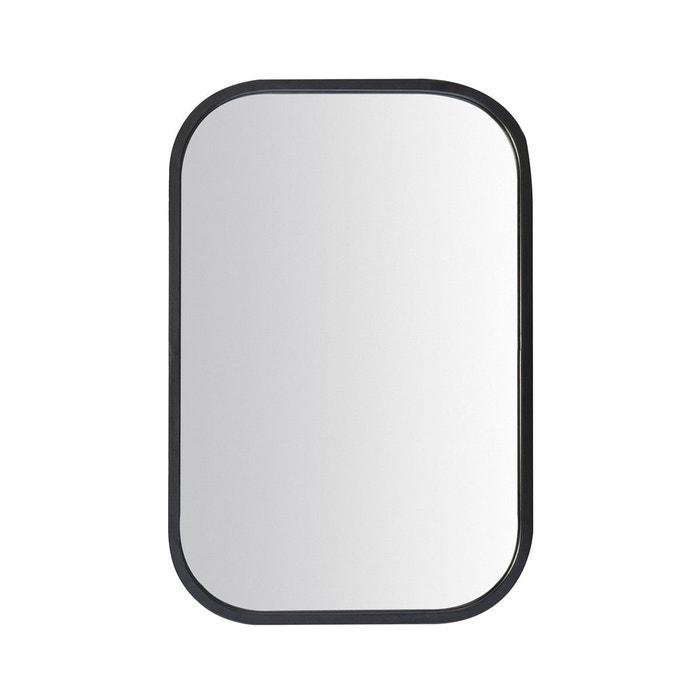 Miroir atelier arrondi noir emde premium la redoute for Miroir arrondi