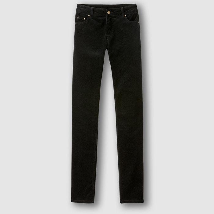 Image Pantalon velours droit La Redoute Collections