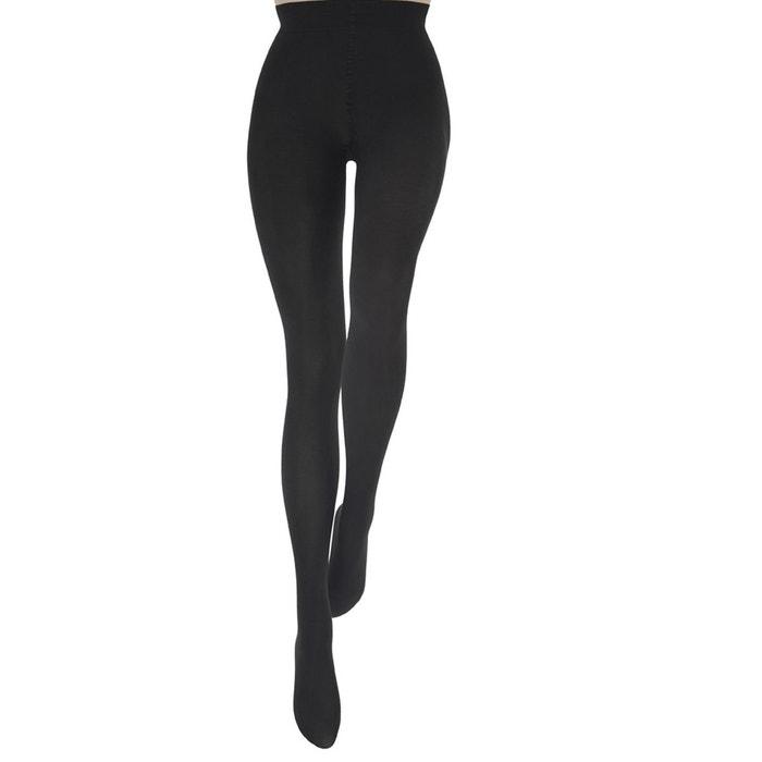 collant chaud le bourget uni coton noir noir le bourget la redoute. Black Bedroom Furniture Sets. Home Design Ideas