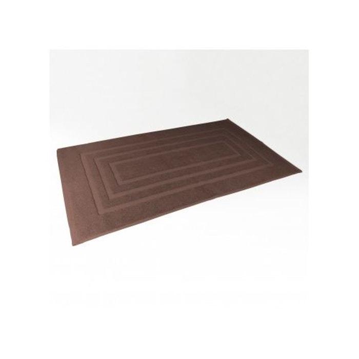 Tapis de bain 50x85 cm uni en eponge choco home bain la - Redoute tapis de bain ...