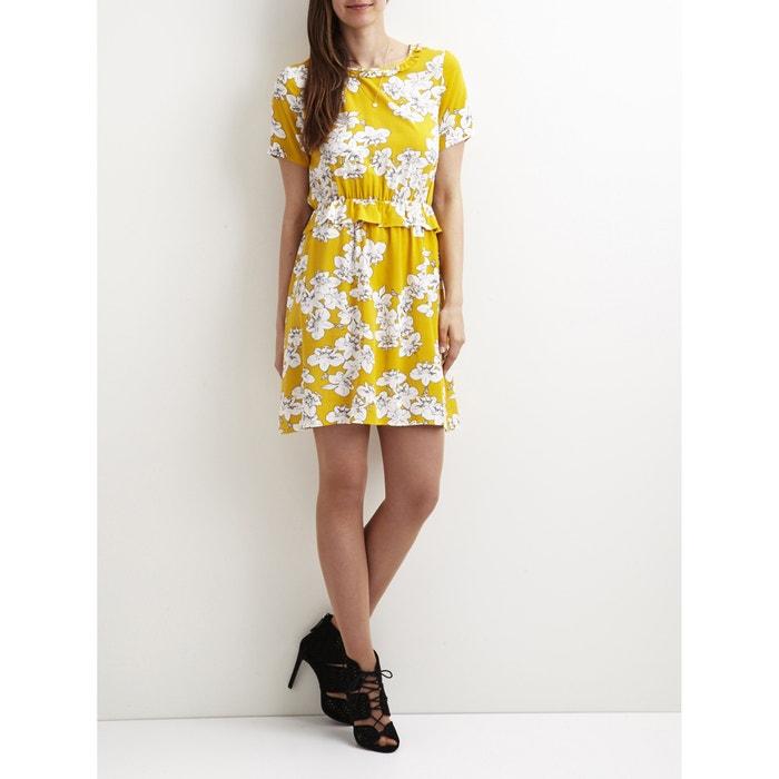 Floral Print Dress with Ruffles  VILA image 0