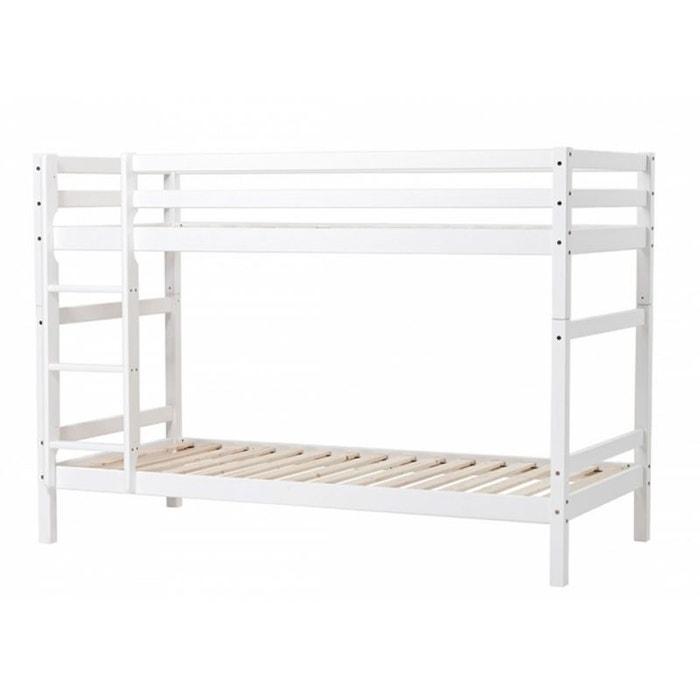 lit superpos volutif basic blanc nordic factory la redoute. Black Bedroom Furniture Sets. Home Design Ideas