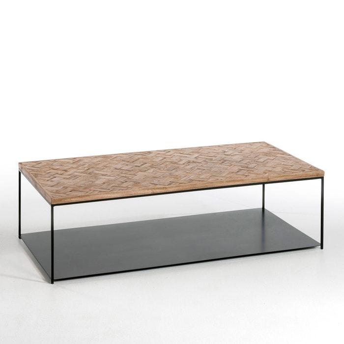 Alphee oblong coffee table am pm la redoute - Tables basses la redoute ...