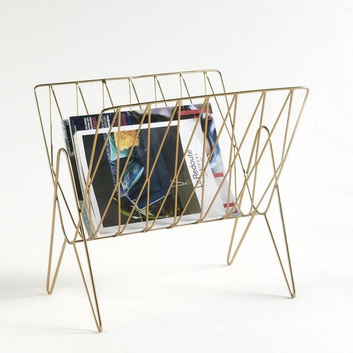 porte revue niouz laiton la redoute interieurs la redoute. Black Bedroom Furniture Sets. Home Design Ideas