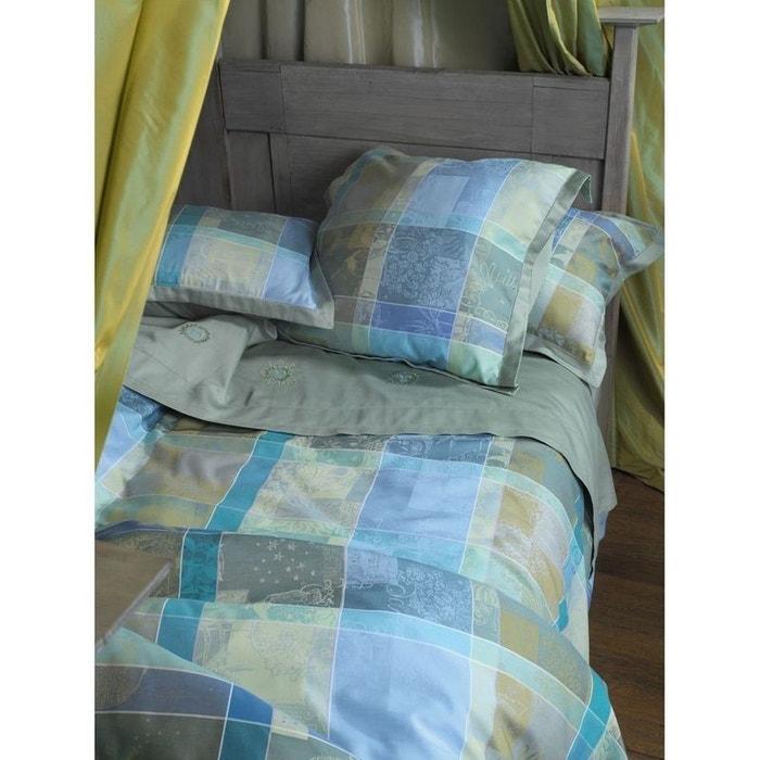 housse de couette mille et une nuits nymphea vert garnier thiebaut la redoute. Black Bedroom Furniture Sets. Home Design Ideas