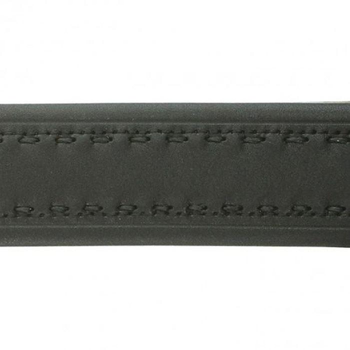 Ceinture sport sellier noir Emporio Balzani   La Redoute 13146a5921c
