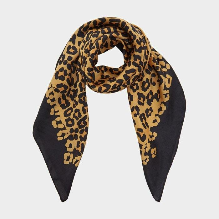 Écharpe à imprimé léopard - laaria léopard Dune London   La Redoute 852719198a01