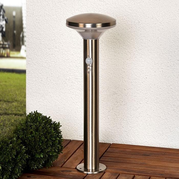 luminaire pour socle jiyan d tecteur de mouvement inox blanc lampenwelt la redoute. Black Bedroom Furniture Sets. Home Design Ideas
