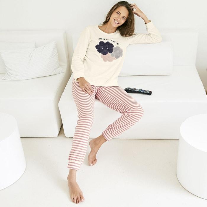 pyjama chaud ecru la redoute collections la redoute. Black Bedroom Furniture Sets. Home Design Ideas