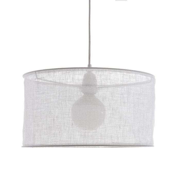 Lampadario in garza di lino Ø35 x A20 cm, Holorime  AM.PM. image 0